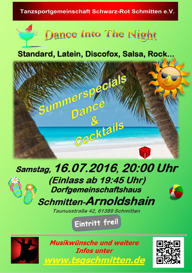 Summerspecials-Dance-and-Cocktails-Tanzparty mit Standard und Latein